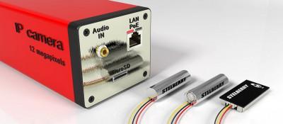 Подключение микрофонов к IP-камерам